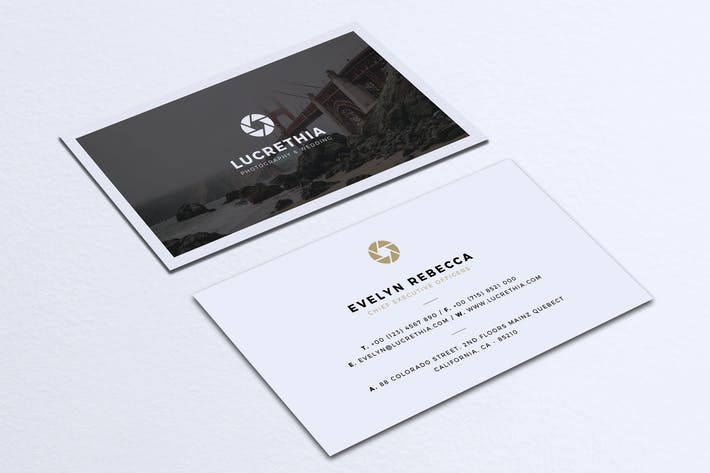 Cover Image For Minimalist Business Card Vol. 36