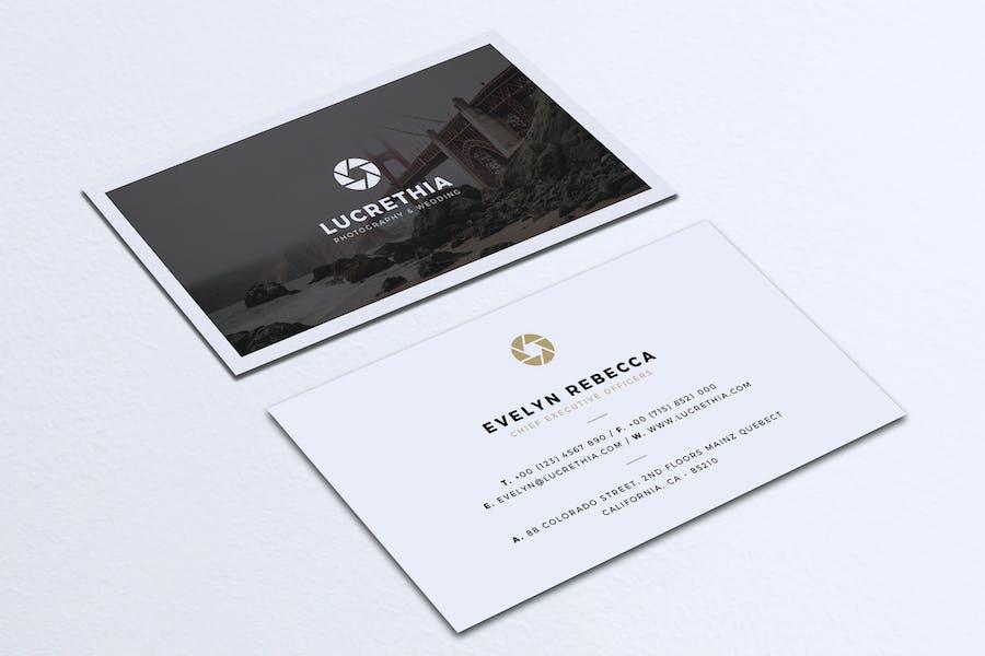 Minimalist Business Card Vol. 36