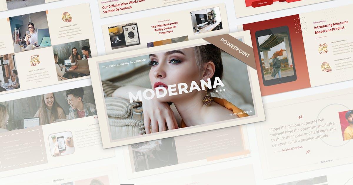 Download Moderana- Creative Business Presentation Template by Premast