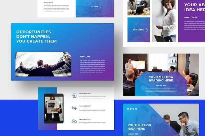 Thumbnail for BUSINESS - Vorschlag Google Slides