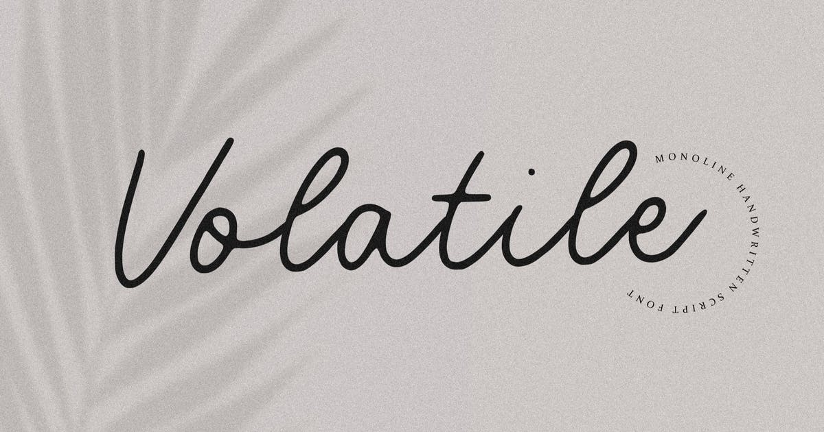 Download Volatile Signature Font YH by GranzCreative