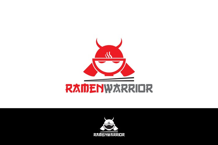 Thumbnail for Ramen Warior Logo Template YR
