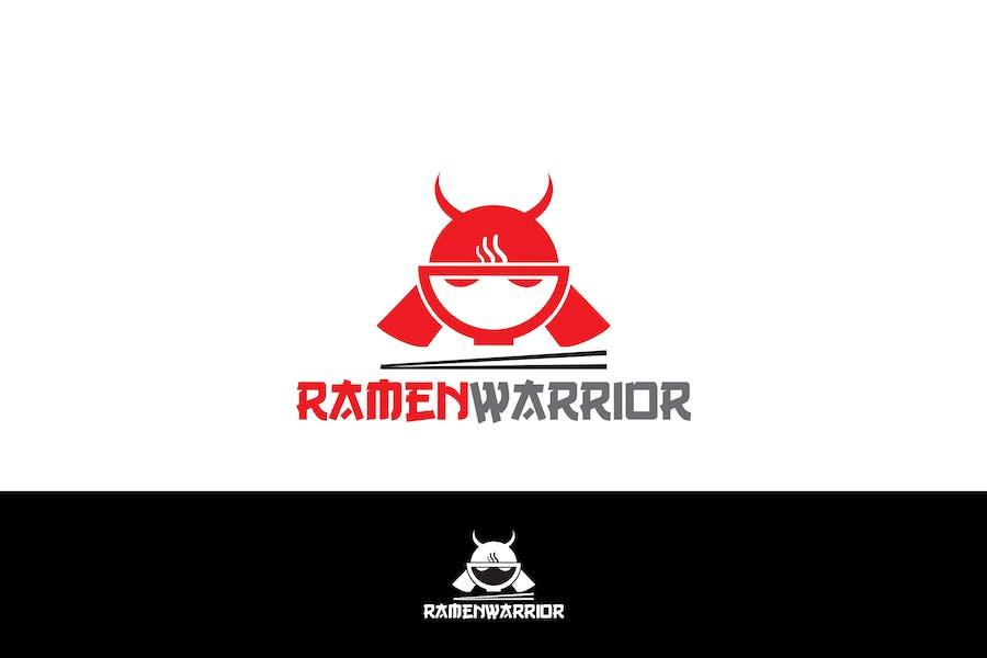 Ramen Warior Logo Template YR