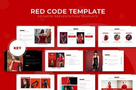 Red Code - Keynote Template