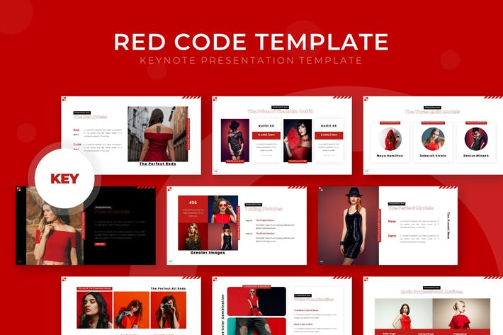 Red Code - Keynote Template