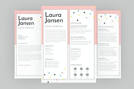 Vote CV Resume Designer