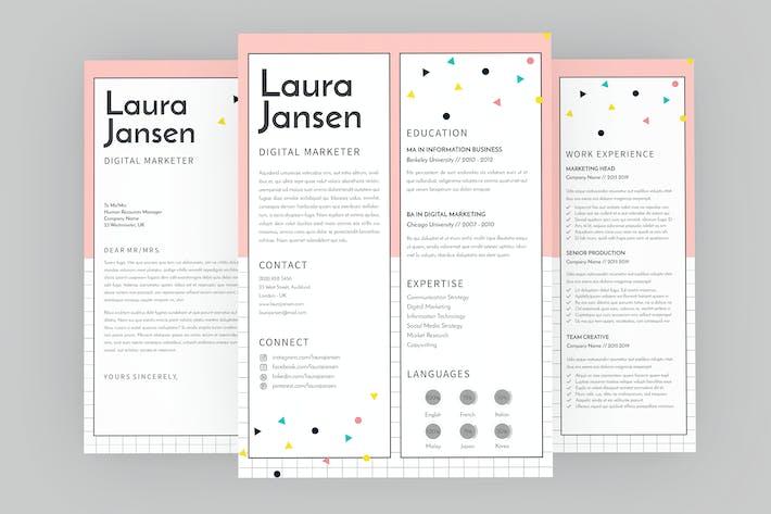 Thumbnail for Vote CV Resume Designer