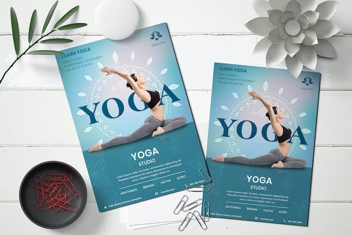 Thumbnail for Yoga Studio Flyer Template