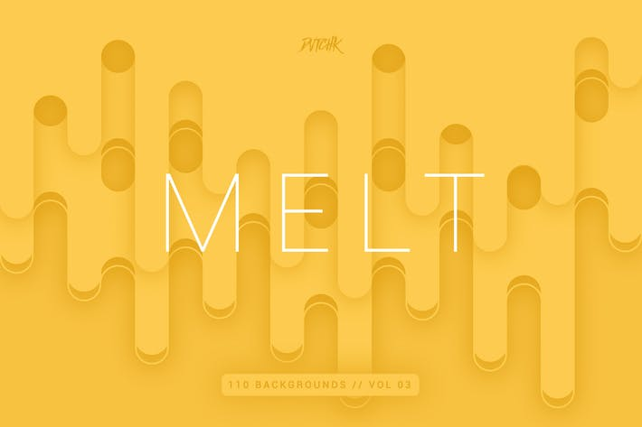 Thumbnail for Melt | Abstract Rounded Backgrounds | Vol. 03
