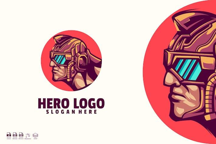 Hero logo template