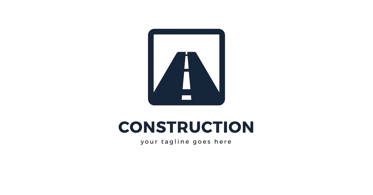 Construction Logo Template by Pixasquare