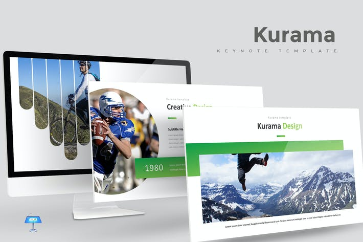 Cover Image For Kurama - Keynote Template
