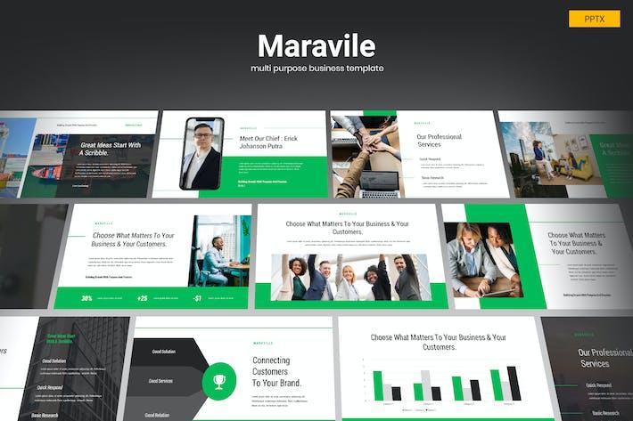Thumbnail for Maravile - Multipurpose Business Powerpoint