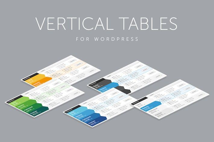 Thumbnail for Vertikale Web-Preistabellen für WordPress