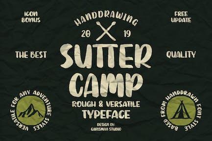 Sutter Camp | Vintage Typeface