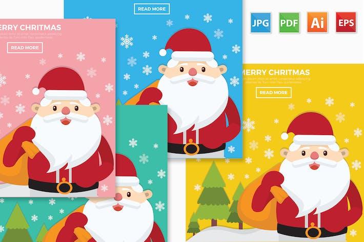 Thumbnail for Diseño de Merry Navidad.