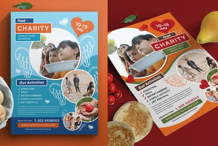 Kids Charity Flyer