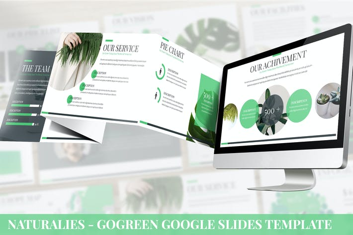 Thumbnail for Naturalies - GoGreen Google Slides Template