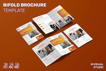 Corporate - Bifold Brochure Template