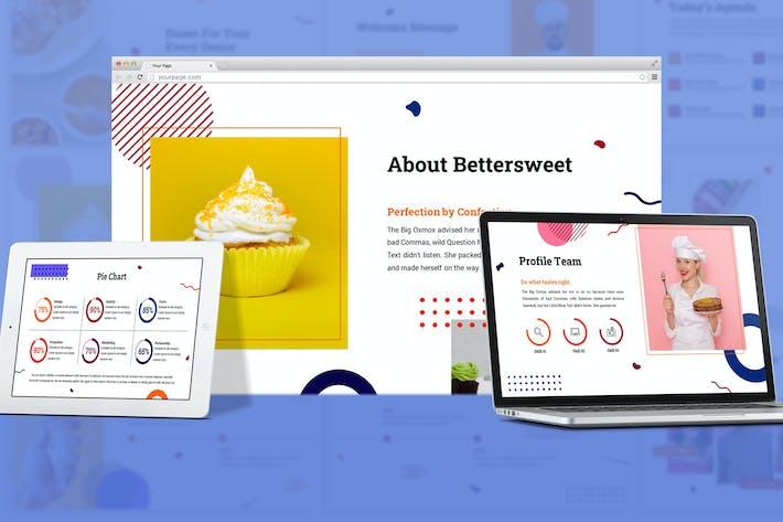 Bettersweet - Geometric Google Slides Template