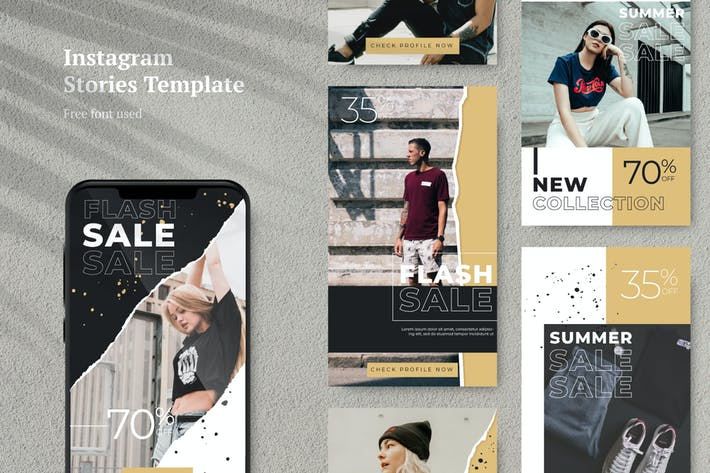 Thumbnail for AWR Sale Instagram Stories Template 1