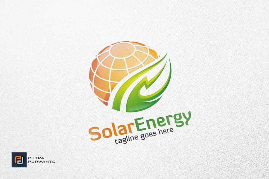 Solar Energy - Logo Template