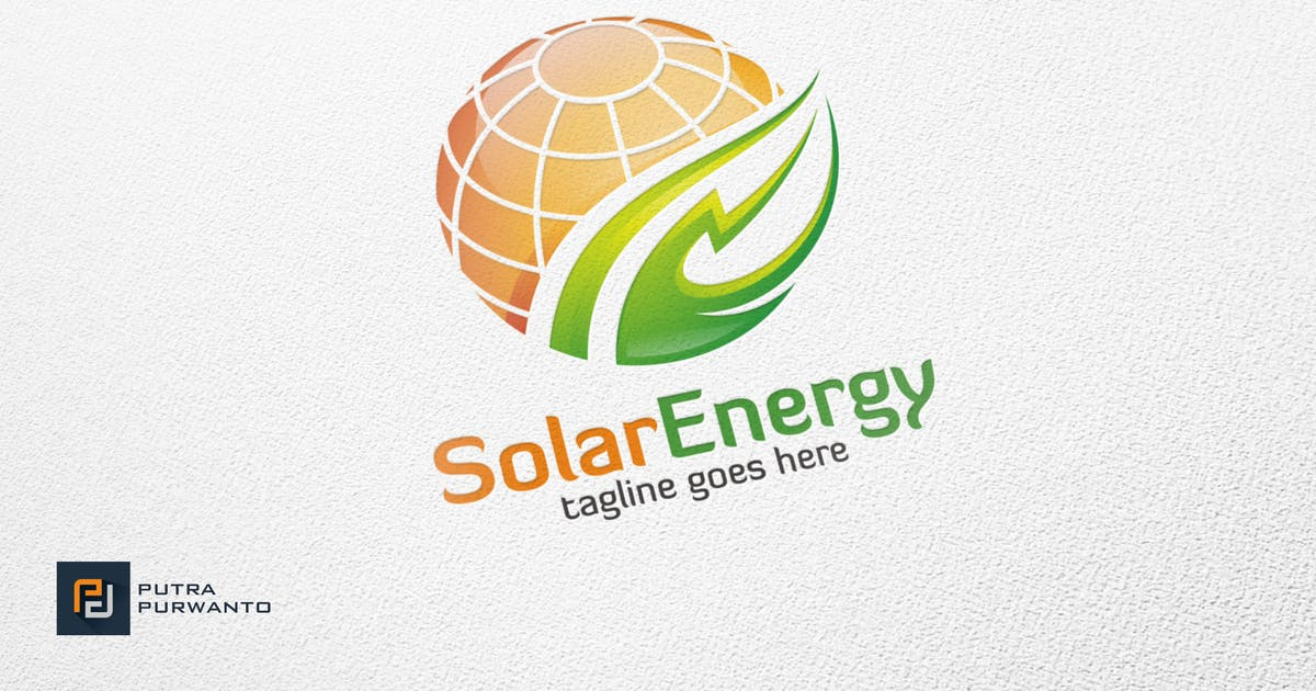 Download Solar Energy - Logo Template by putra_purwanto
