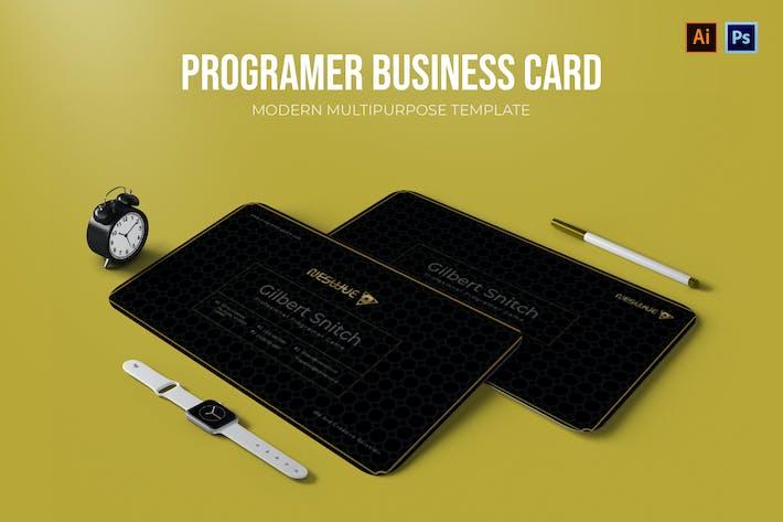 Thumbnail for Programer - Business Card