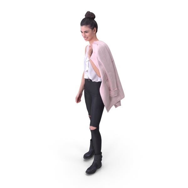 Woman Posed