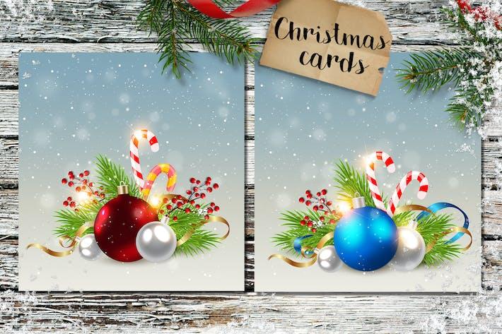 Thumbnail for Фоны рождественскими украшениями
