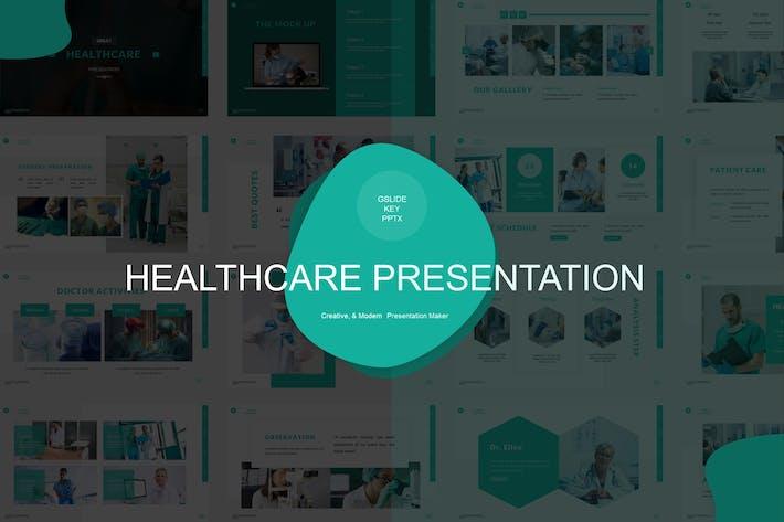 Шаблон презентации здравоохранения