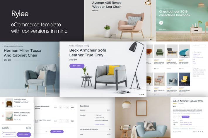 Thumbnail for Rylee - eCommerce Business HTML Templates