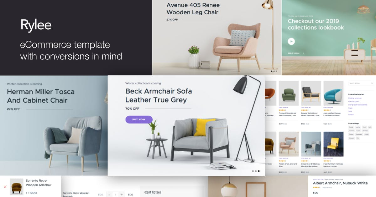 Download Rylee - eCommerce Business HTML Templates by deTheme