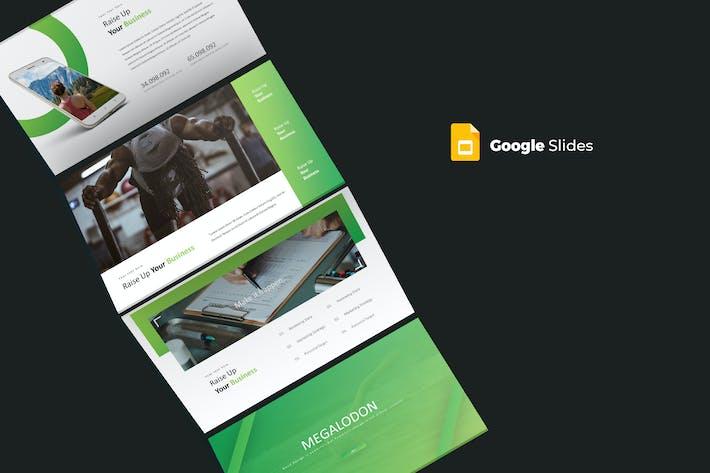 Thumbnail for Megalodon - Google Slides Template