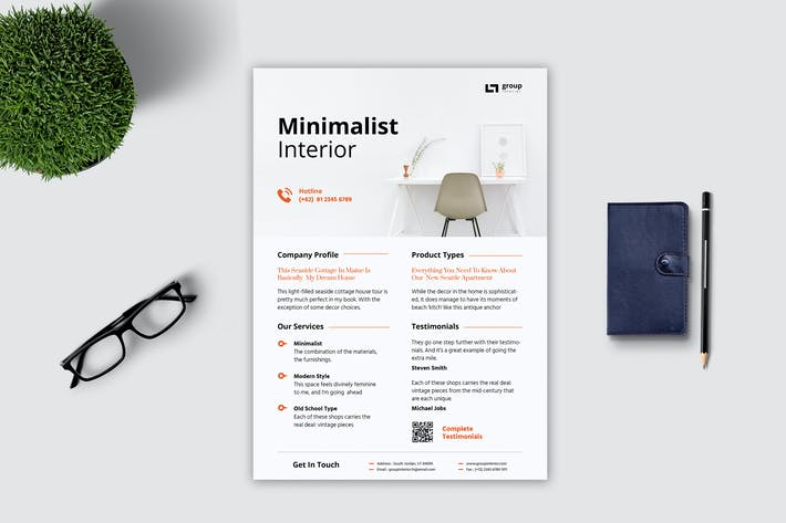 Thumbnail for Minimalist Interior Flyer