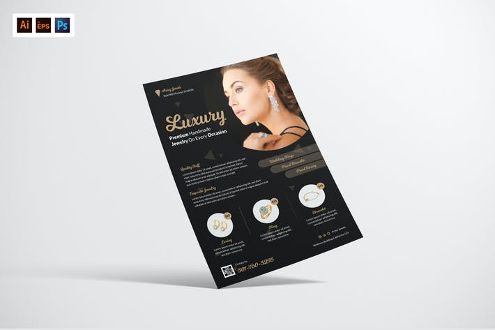 Thumbnail for Jewelry Flyer Design