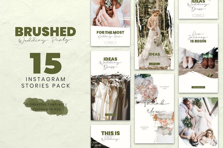 Thumbnail for Wedding Brush Instagram Stories