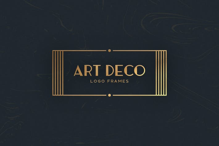 Thumbnail for 7 Art Deco Logo Frames