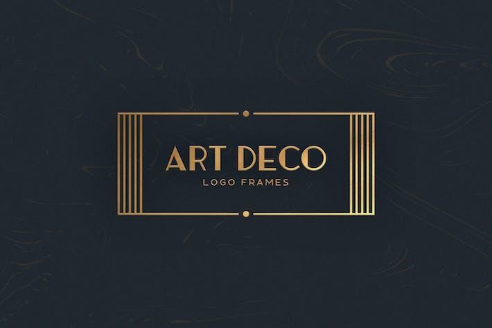 7 Art Deco Logo Frames By Mehmetrehatugcu On Envato Elements