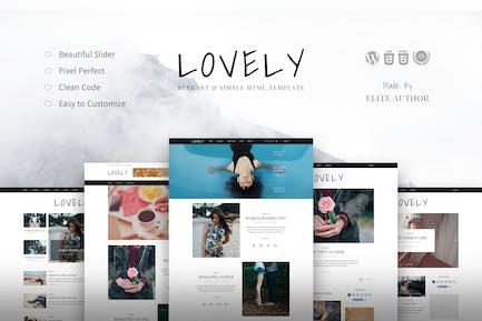 Lovely - Elegant & Simple Blog Theme