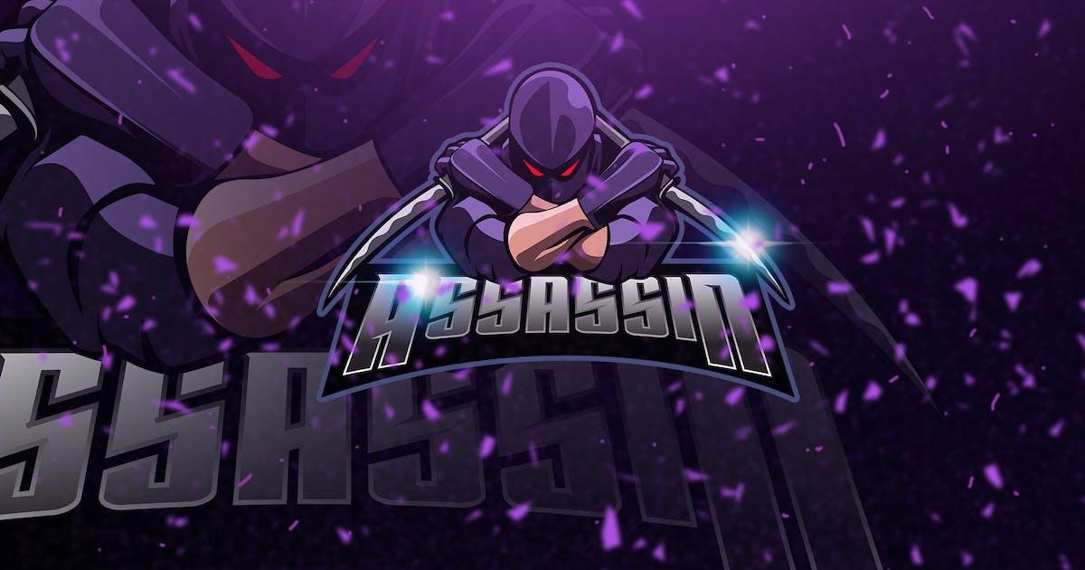 Download Assassin - Mascot & Esport Logo by aqrstudio