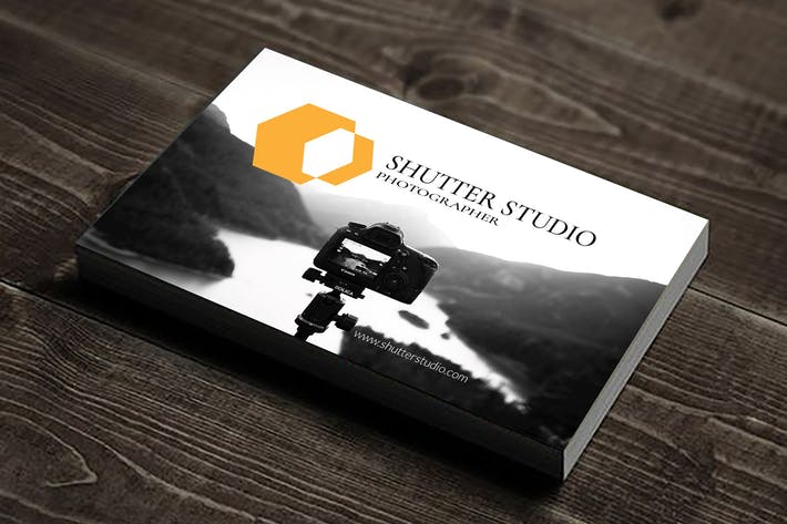 Thumbnail for Shutter - Corporate Business Card