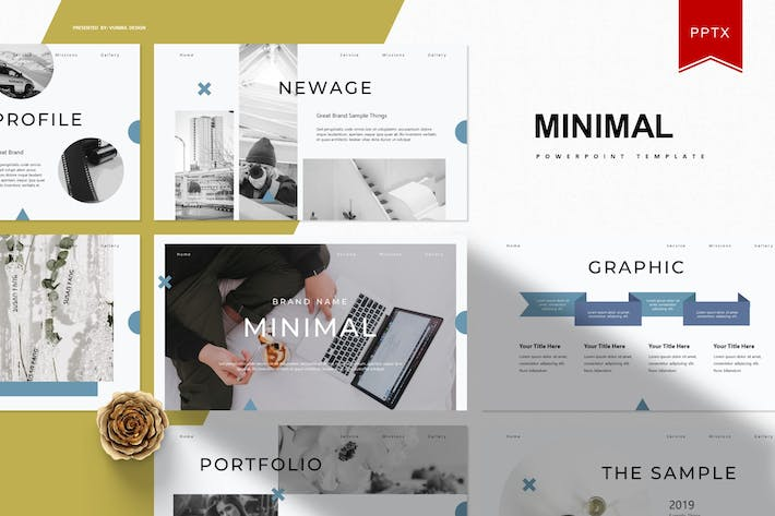 Thumbnail for Minimal | Powerpoint Template
