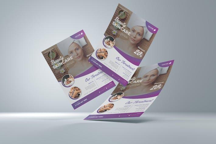 Beauty Skincare Flyer