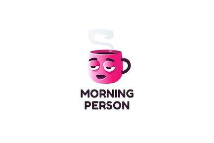 Morning Person - Logovorlage