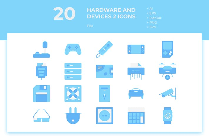 Thumbnail for 20 Hardware and Device 2 (Flat)