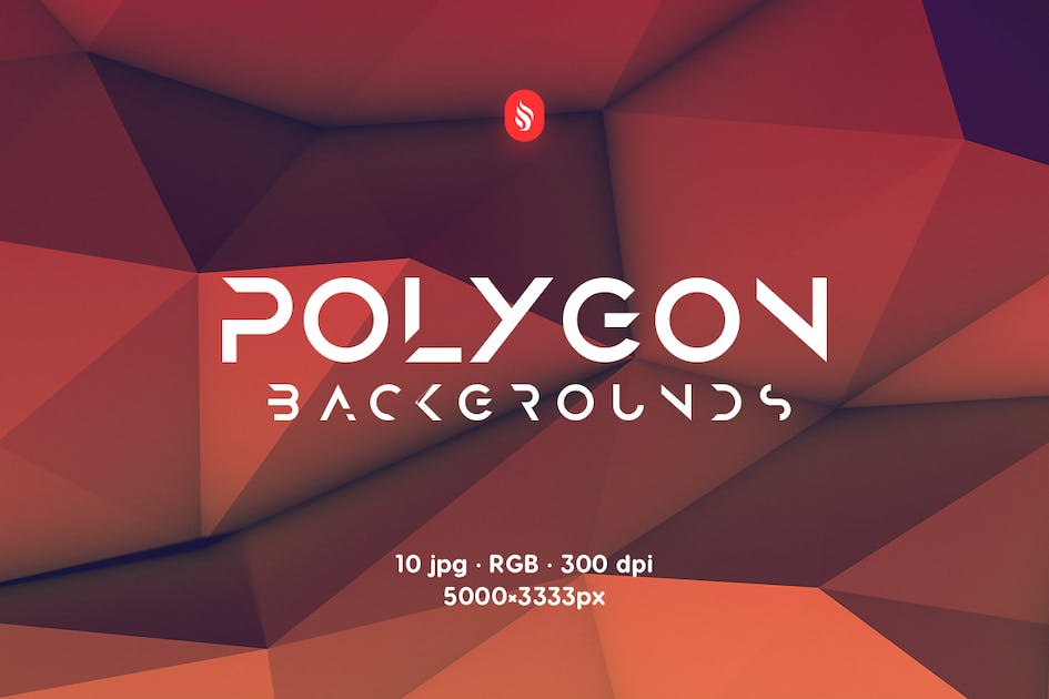 Download Realistic Polygon Backgrounds by themefire