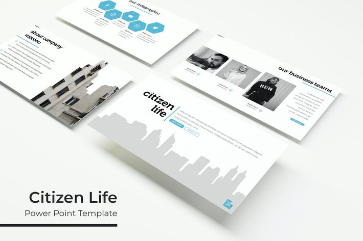 Thumbnail for Citizen Life - Powerpoint Template