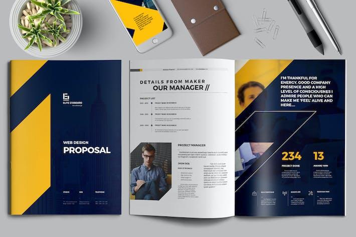 Thumbnail for Web-design Proposal