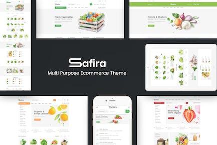 Safira - Food & Organic WordPress Theme